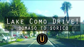 Italy Lake Como Drive!! Domaso to Sorico!