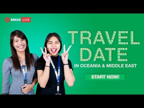 Rakso Travel Date Ep7 - Oceania & Middle East