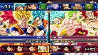 Baixar Goku All Forms VS Broly All Forms | Dragon Ball Z Budokai Tenkaichi 3