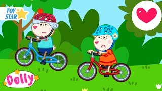 Dolly And Friends | Cycling | Season 3 | 5 New Episodes | Funny Cartoon For Kids #271 Full HD