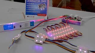 Применение контроллера DOMINATOR DMX в шоутехнике