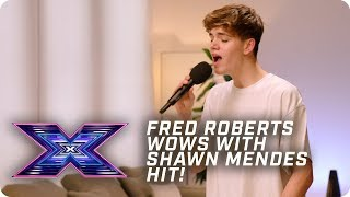 Fred Roberts WOWS with Shawn Mendes hit! | X Factor: The Band | Auditions