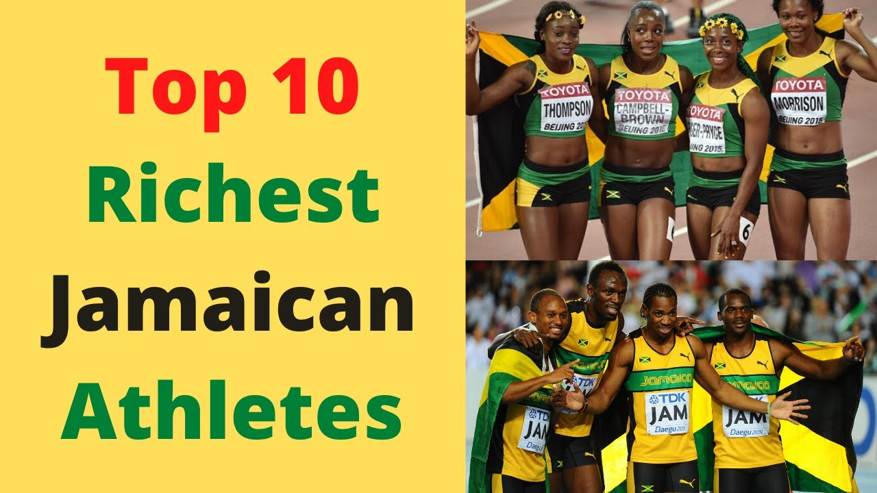 Top 10 Richest Jamaican Athletes and Their Net Worth