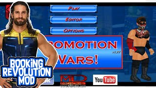 PROMOT ON WARS MOD BY WRM  BOOK NG REVOLUT ON PRO MOD FOR ANDRO D  WR2D MOD REAL ST C  BR2D MOD