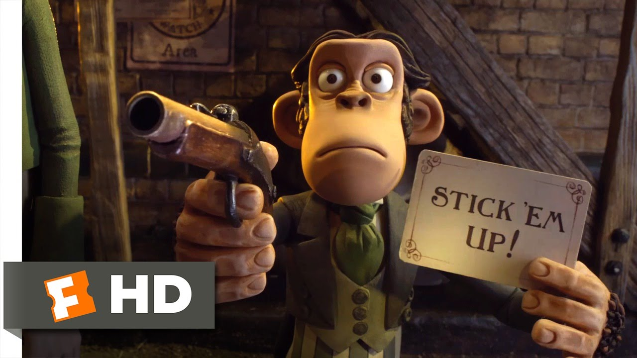 Download The Pirates! Band of Misfits (6/10) Movie CLIP - Stick 'Em Up (2012) HD
