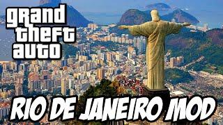 GTA San Andreas Rio de Janeiro MOD - FAVELAS