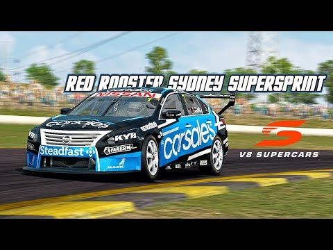 VASC: Red Rooster Sydney SuperSprint (V8 Supercar in Automobilista)
