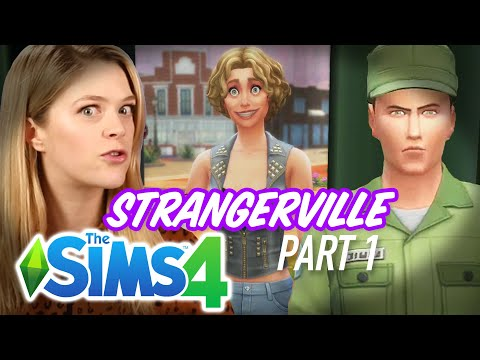 Single Girl Breaks Into A Lab in The Sims 4 Strangerville - Part 1