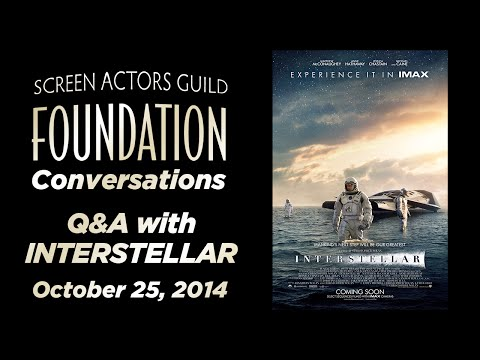 Conversations With Jessica Chastain, Anne Hathaway And Matthew McConaughey Of INTERSTELLAR