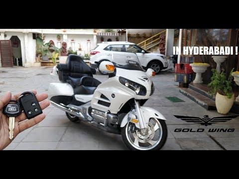 Honda Goldwing 40th Anniversary Edition Walkaround/Exhaust (IN HYDERABADI)