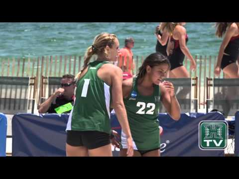 Hawaii Beach Volleyball Highlights vs. Arizona - NCAA Championship 5-7-16