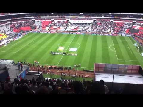 Mexico vs Guyana himno nacional 3-1 mexicano