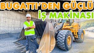 Bugatti Chiron'dan Güçlü 41 Tonluk İş Makinası