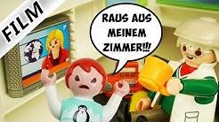 Playmobil Film deutsch OPA ZIEHT IN EMMAS ZIMMER - Schläft sie wieder bei Mama & Papa? Familie Vogel