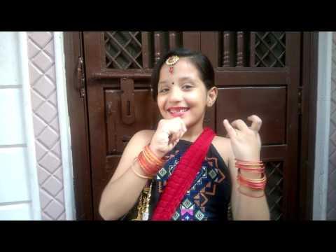 Adah narang audition as Radha