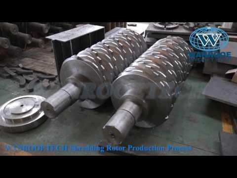 WANROOETECH Manufacturer for shredder knife, crusher knife, granulator knife, grinder knife