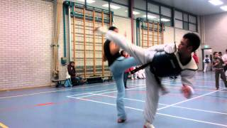 Taekwondo Sportclub Ilyo kijk- en meedoetraining 9 februari 2012 Zoetermeer