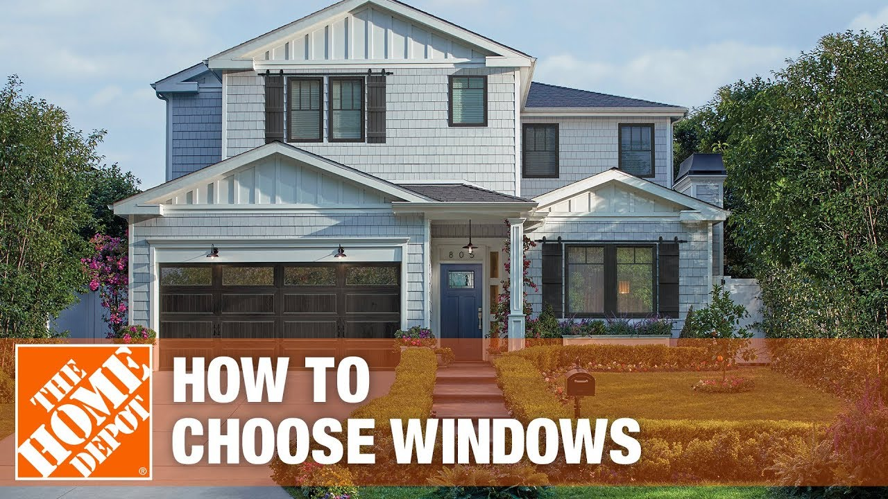 Diffe Types Of Windows For Your Home The Depot