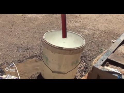 إعادة تأهيل مضخات المياه في مدينة مسرابا في الغوطة الشرقية  - 17:20-2017 / 8 / 16