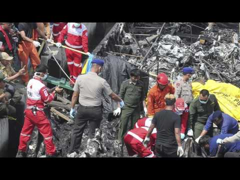 Indonesia ship fire accident