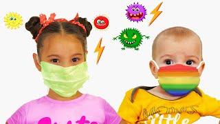 Аня и детские истории про вирусы и маски