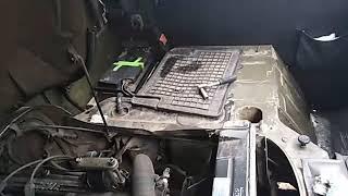 Не заводится уаз буханка 409 мотор не работает бензонасос и нет искры.
