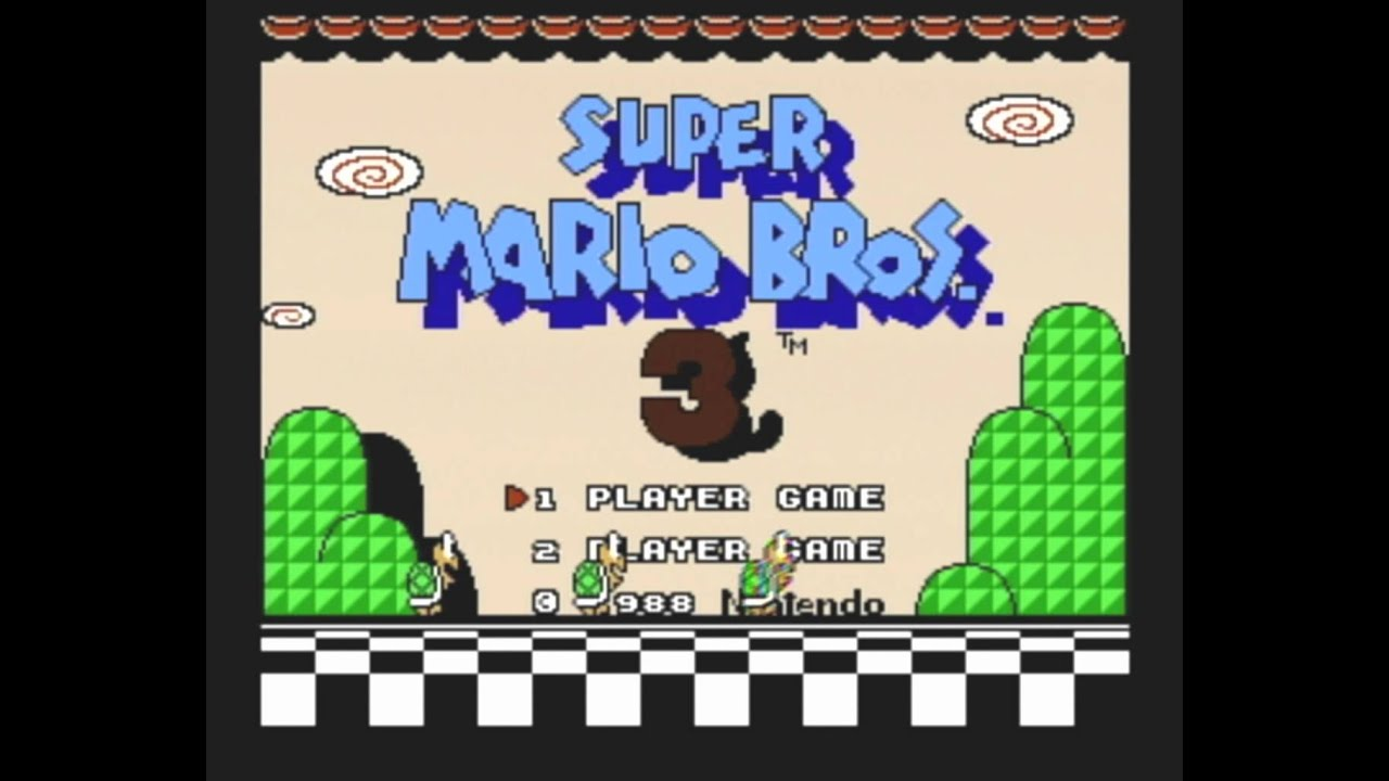 Image result for super mario brothers 3 opening