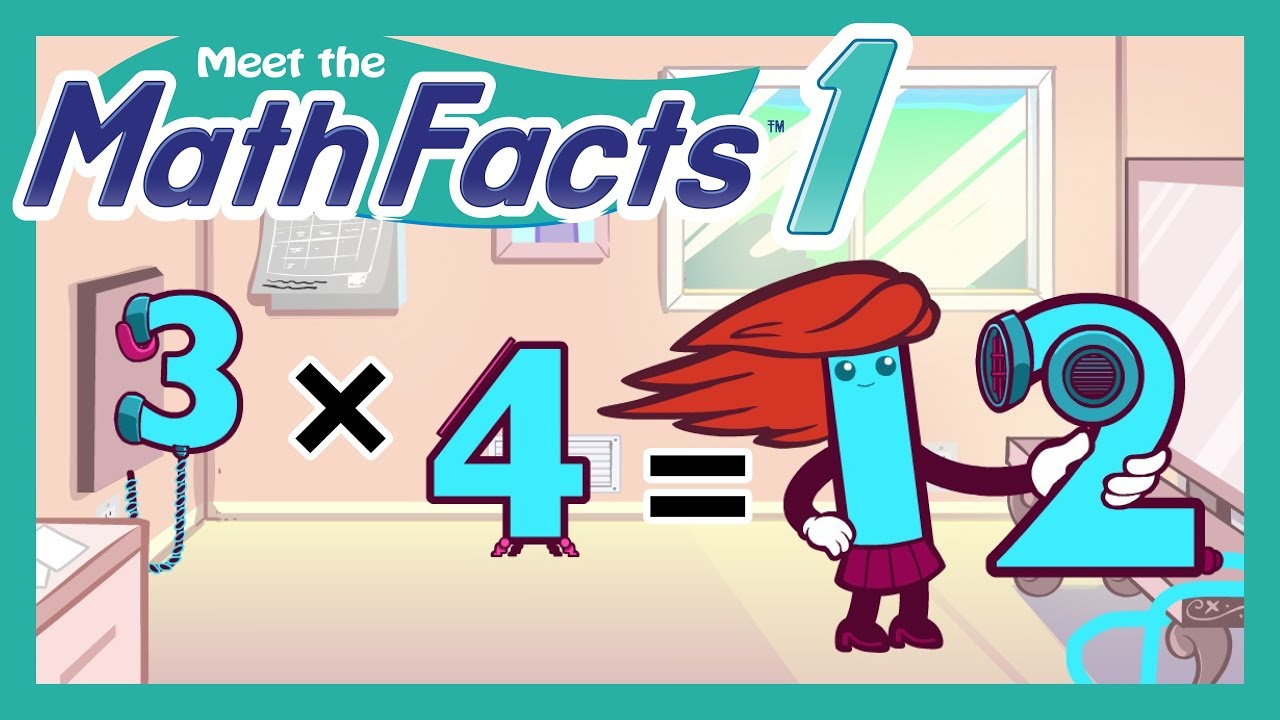 Meet the Math Facts Level 1 - Multiplication Preview - YouTube