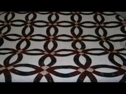 basic free quilt patterns double wedding ring quilt youtube - YouTube : free wedding ring quilt pattern - Adamdwight.com