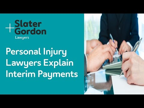 Personal Injury Lawyers Explain Interim Payments