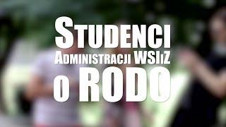 Studenci Administracji WSIiZ o RODO