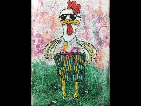 🎥  70 Acres Studio Thursday Live Stream - PART 2-More Chicken Journal work