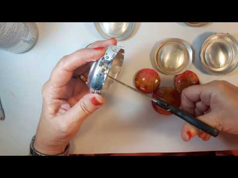 How to use a Soda Can to make a domed bead