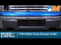2009-2014 F-150 T-REX Billet Series Bumper Grille - Black Review & Install