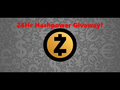 Enter to Win 24Hr Zcash Hashpower Givaway!