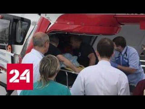 Ребенок выпал с 7-го этажа в Москве и остался жив