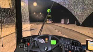 Oyun Fukarası | Omsi Bus Simulator 2 | Karlı Yollardayız