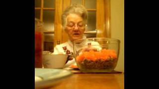 (1) Mamaw Ada~helping Me Make An Orange Slice Cake :) Christmas 2011 (12/19)