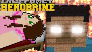 Minecraft BURNING HEROBRINE HEROBRINE IS REAL Mini-Game