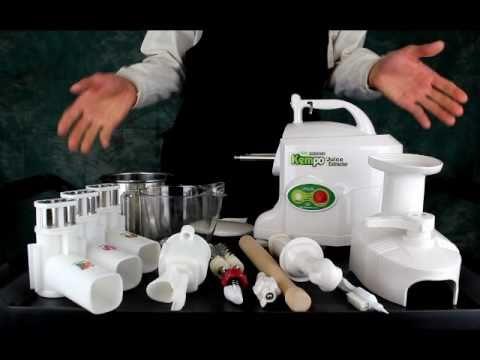 Green Power Kempo Juicer - Twin Gear Juicer Model 1303