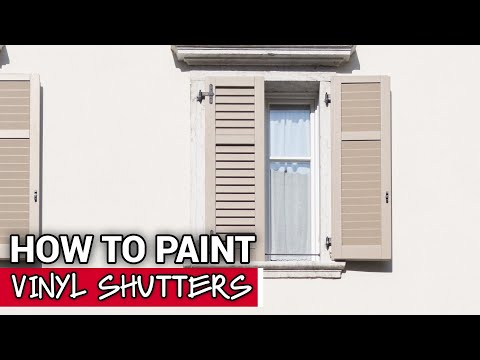 How To Paint Vinyl Shutters - Ace Hardware
