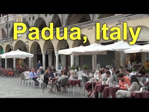 Padua, Italy, travel in the Old Town