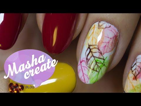 Акриловыми красками рисовать на ногтях