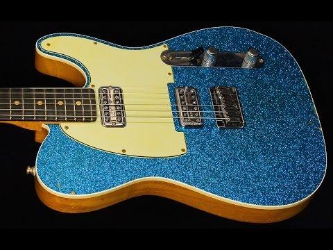 Fender Custom Shop 2014 NAMM Double TV Jones Telecaster Relic  •  SN: R75822