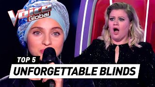 UNFORGETTABLE BLIND AUDITIONS in The Voice