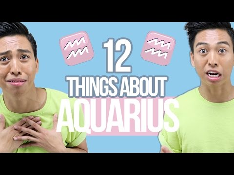 12 things YOU need to know about AQUARIUS ♒