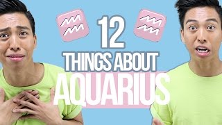 Video 12 things YOU need to know about AQUARIUS ♒ download MP3, 3GP, MP4, WEBM, AVI, FLV Desember 2017