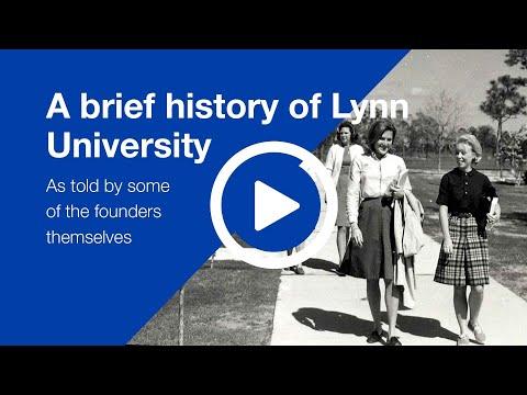 A brief history of Lynn University