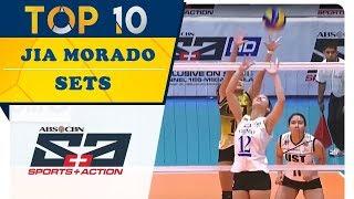 Top 10: Jia Morado Sets