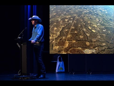 Farmer John Fenton talks on fracking in Brisbane 13 Ap 2016